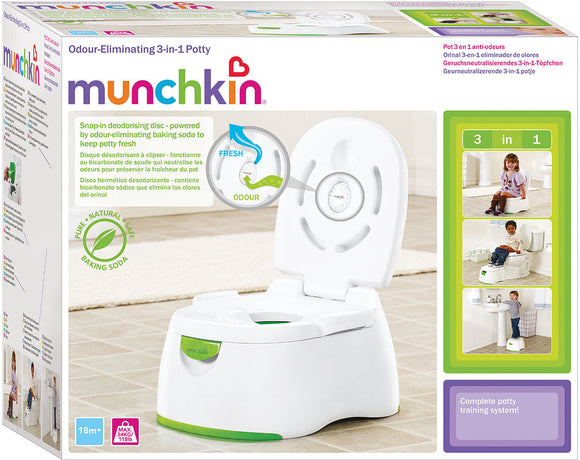 Munchkin, Odour Eliminating Multistage 3-in-1 Potty