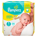 Pampers UK, Premium Protection New Baby