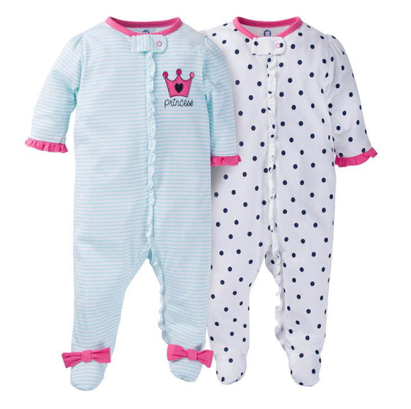 Princess Sleep ' n Play by Gerber-Pack of 2 - mumspring