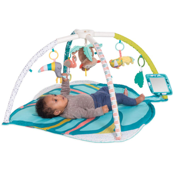 Infantino Go Gaga Deluxe Twist & Fold Activity Gym and Play Mat