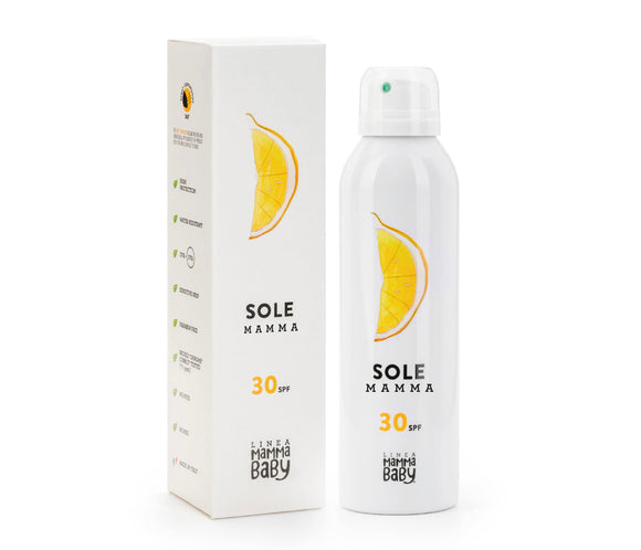 Sole Mamma (Sunscreen) SPF 30 by Linea Mamma Baby - mumspring