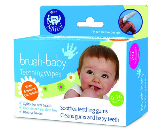 Brush Baby Dental Wipes (Newborn - 16 months) - mumspring