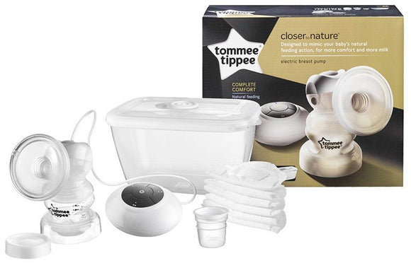 Tommee Tippee Closer to Nature Electric Breast Pump - White