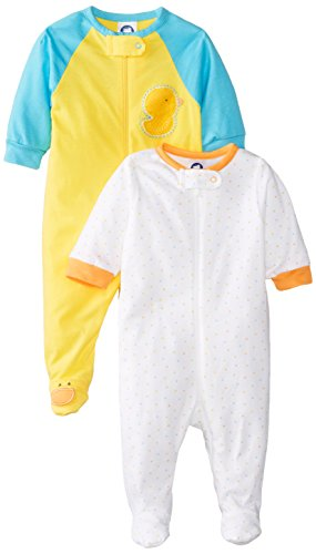 Yellow Duck Sleep 'n Play by Gerber-Pack of 2 - mumspring