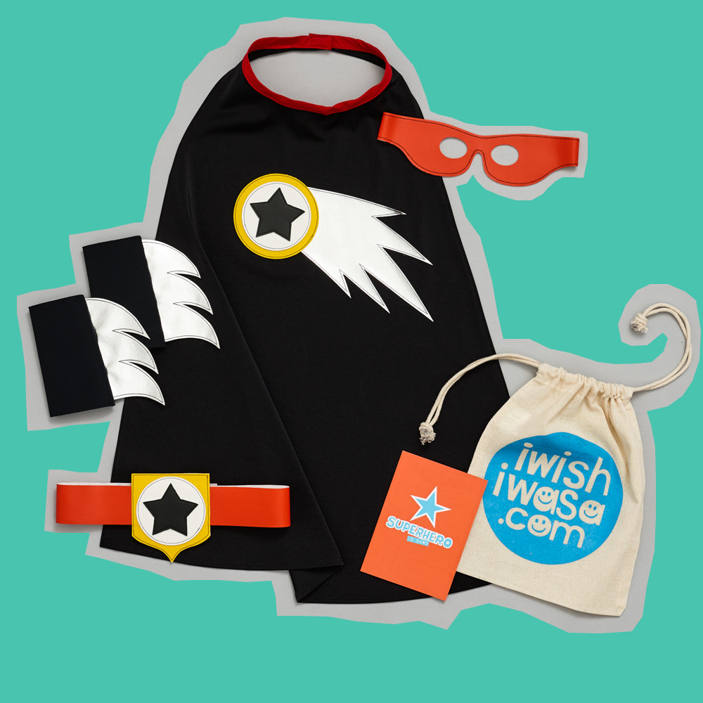 COMET superhero set LUXE black