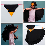 Blackbird cape