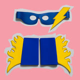 ADULT Thunder & lightening SUPERHERO set
