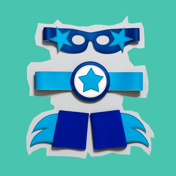 SUPERhero eyeMASK - cuff - BELT set