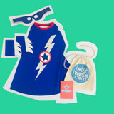 LIGHTENING flash SUPERHERO costume set