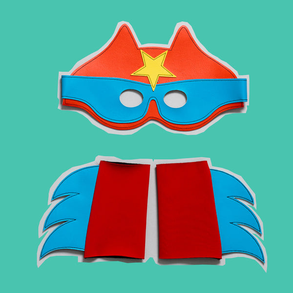 Superstar  mask & cuff giftset