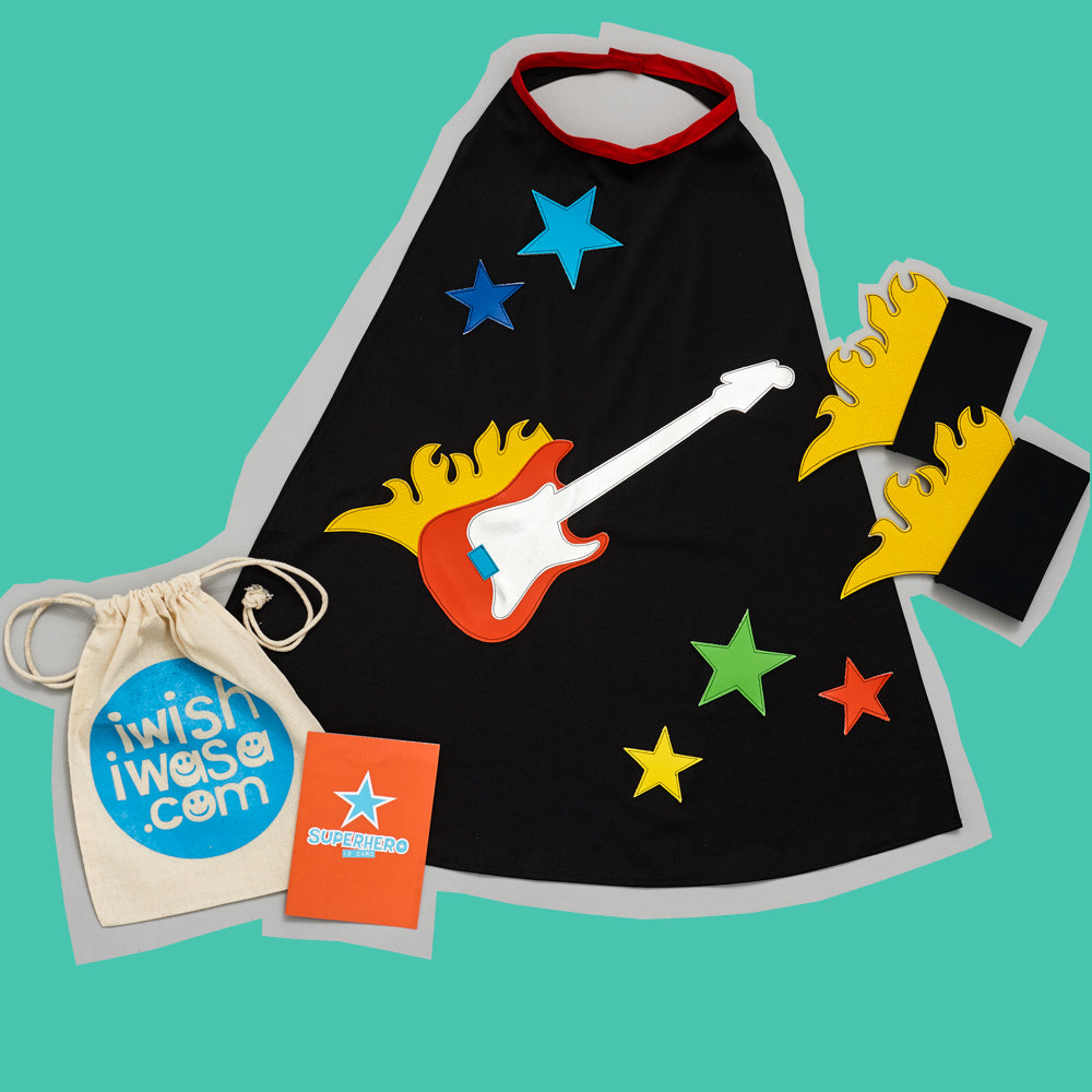 GUITAR HERO costume set