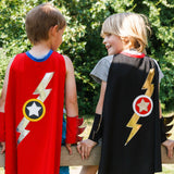 lightening flash cape