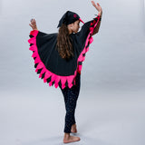 BIRD cape Hot Pink