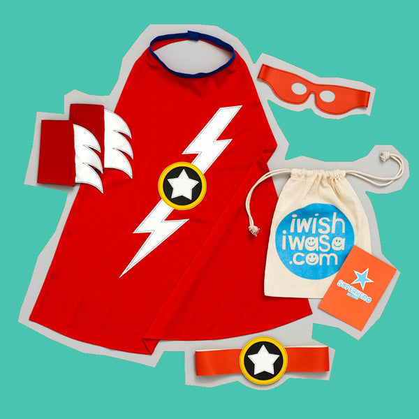 superHERO set LIGHTENING flash LUXE