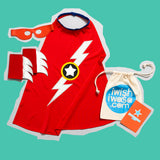 Blue LIGHTENING flash SUPERHERO costume set