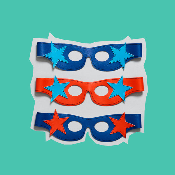 star SUPERHERO mask