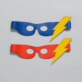 lightening FLASH superHERO mask