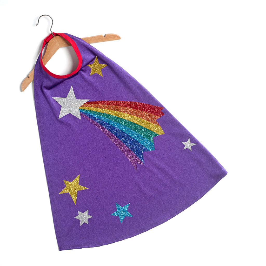 NEW Rainbow shooting star STELLA cape