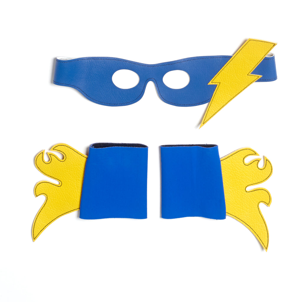 MINI Thor SUPERHERO mask & cuff set