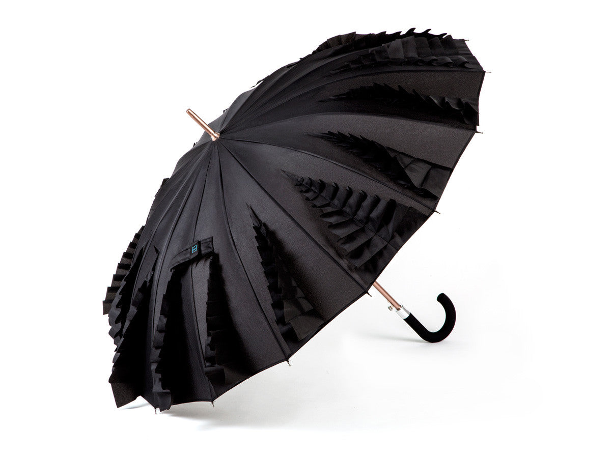 Kisha Ladies Classic Black Widow - Kisha Umbrella