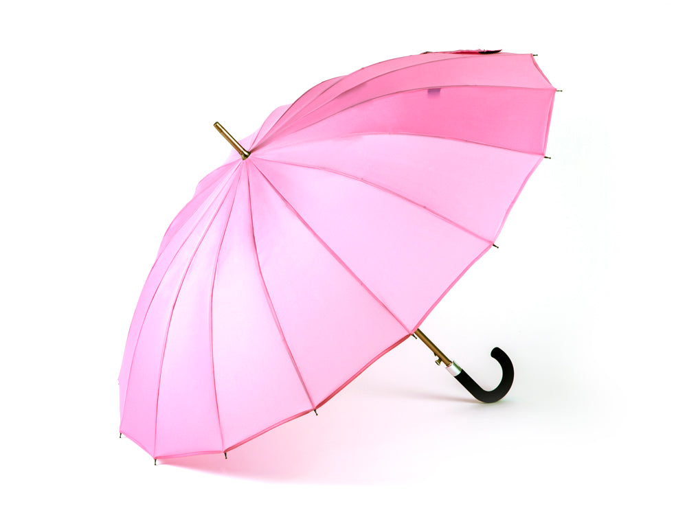 Kisha Ladies Classic Smart Umbrella Pink Edition