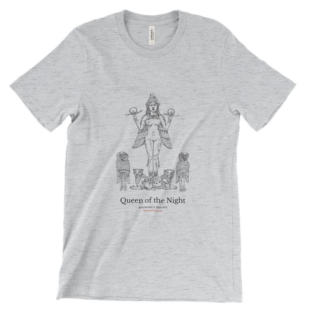 Queen of the Night T-Shirt - Ash (Unisex)