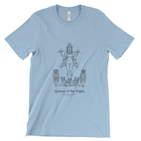 Queen of the Night T-Shirt - Light Blue (Unisex)