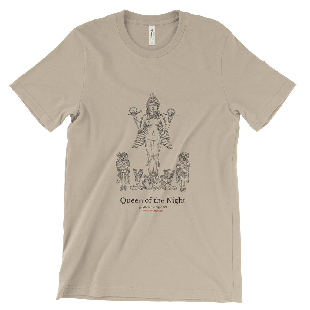 Queen of the Night T-Shirt - Soft Cream (Unisex)