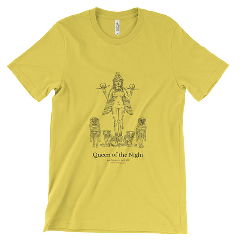 Queen of the Night T-Shirt - Yellow (Unisex)