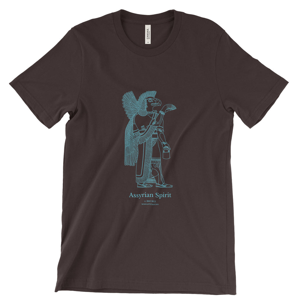 Assyrian Spirit T-Shirt - Brown (Unisex)