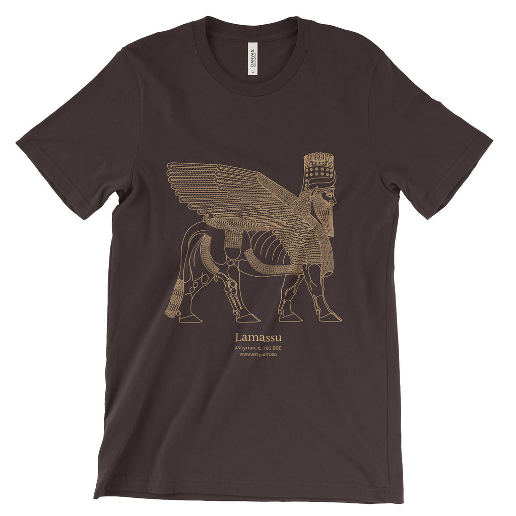 Lamassu T-Shirt - Brown (Unisex)