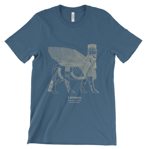 Lamassu T-Shirt - Steel Blue (Unisex)