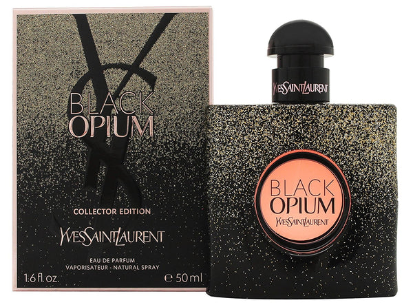 Yves Saint Laurent Black Opium Eau de Parfum 50ml Spray - Sparkle Clash Edition