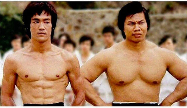 Bruce Lee and Bolo Yeung – lean vs fluffy