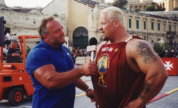 Bill Kazmaier and Svend Karlsen WSM