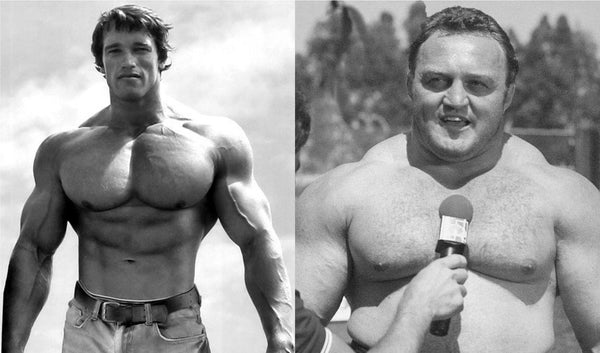 Arnold bodybuilder vs Kazmaier Strongman
