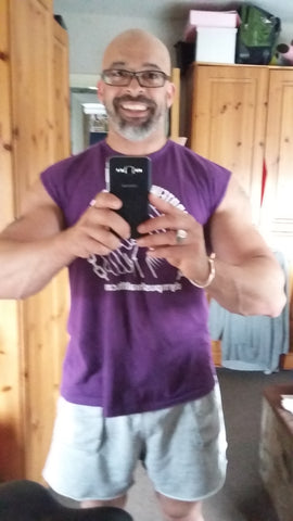 Olympus Health Protein to the People t-shirt in purple