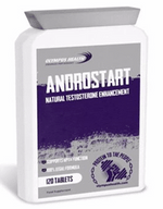 ANDROSTART Natural Testosterone Enhancement  120 tablets