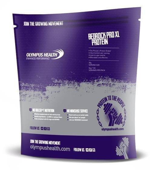 Bedrock (Whey) Soy Based Protein Powder