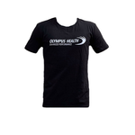 Original Tight Fit Olympus Black T-Shirt