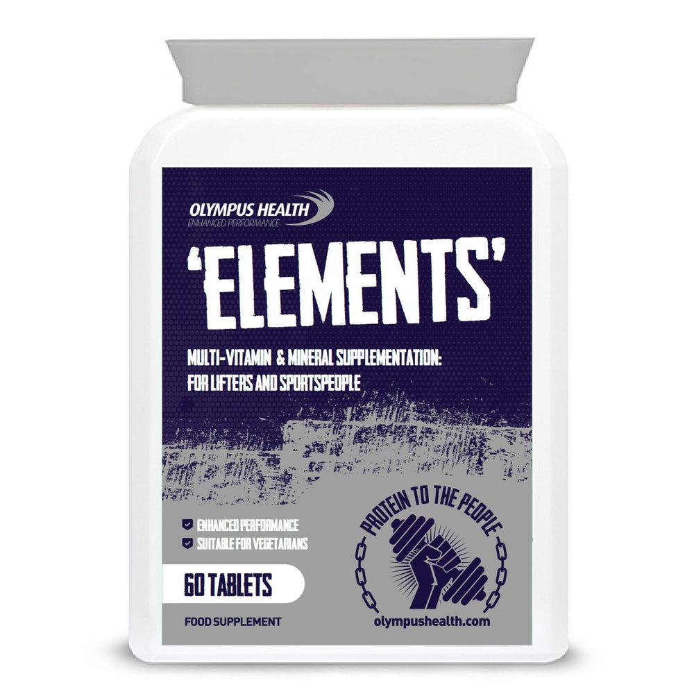 Olympus ELEMENTS multi vitamin 60 tablets