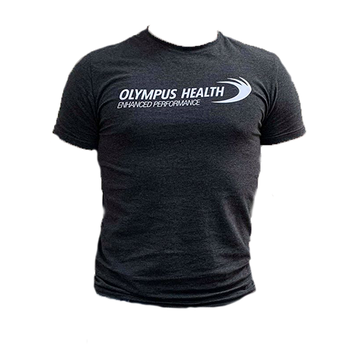 Original Tight Fit Olympus Grey T-Shirt