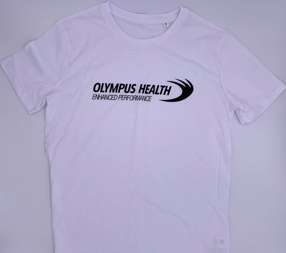 Original Tight Fit Olympus White T-Shirt