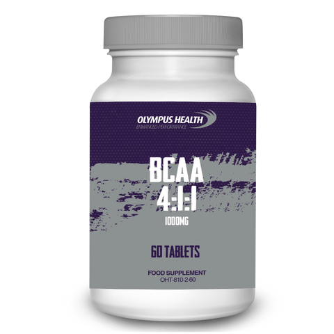 BCAA 4:1:1 1000mg 60 Tablets