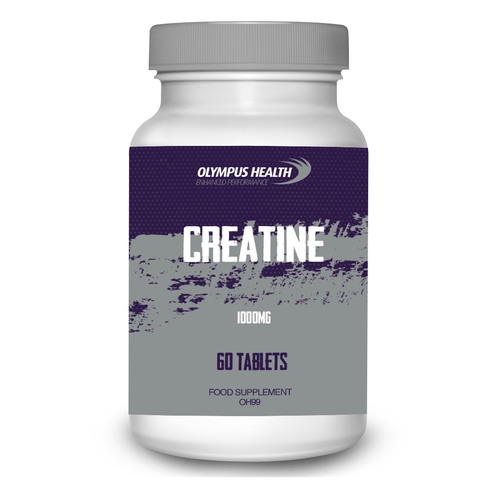 Creatine Monohydrate 1000mg 60 Tablets