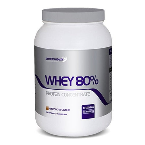 Olympus Health 80% Whey Protein Concentrate 1kg for Σ8