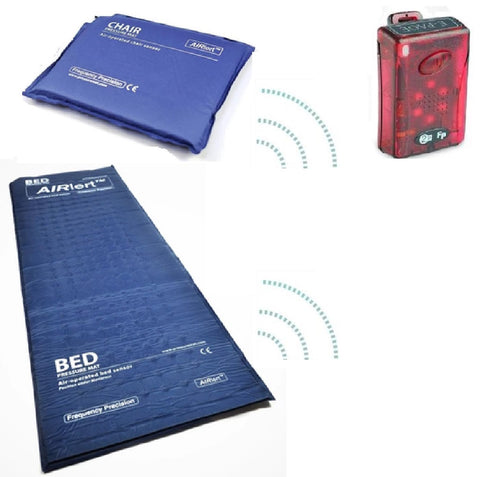 Wireless Bed & Chair Pressure Mat Kit