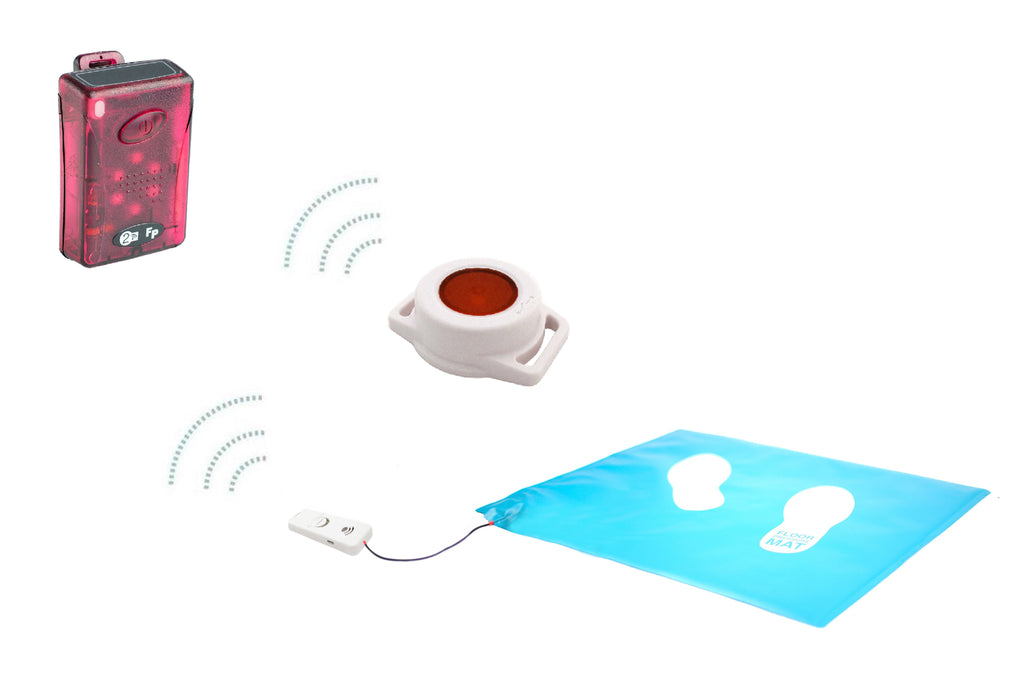 Home From Hospital Kit - Wireless Floor Pressure Mat & Call Button
