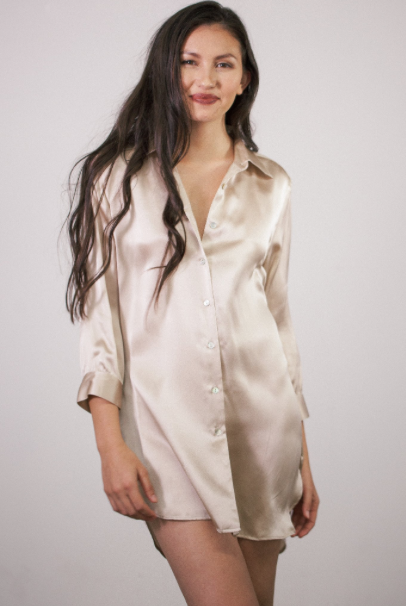 Silk Sleep Shirts