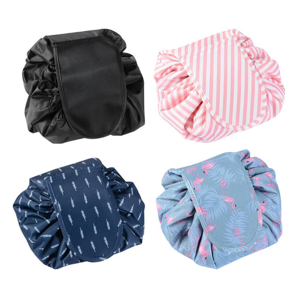 Magic Flat to Duffel Drawstring Cosmetic Bag